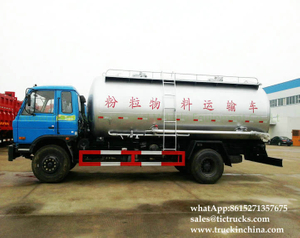15-18 cbm China Bulk Cement Powder Truck DRZ5160XHD