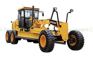 SANY Construction motor grader SAG200-3 export to GHANA