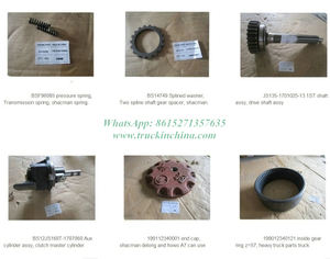 Shacman Truck Parts, Tachometer,Rearview Mirror Left Bracket,steering Gear,bevel Gear,