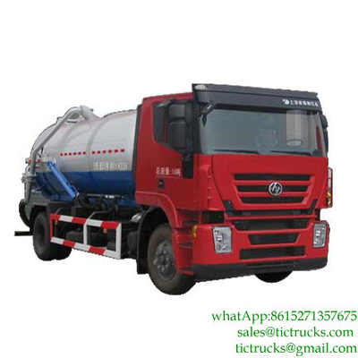 10000L_10m3 Hongyan IVECO Sewer Cleaning Truck 4x2