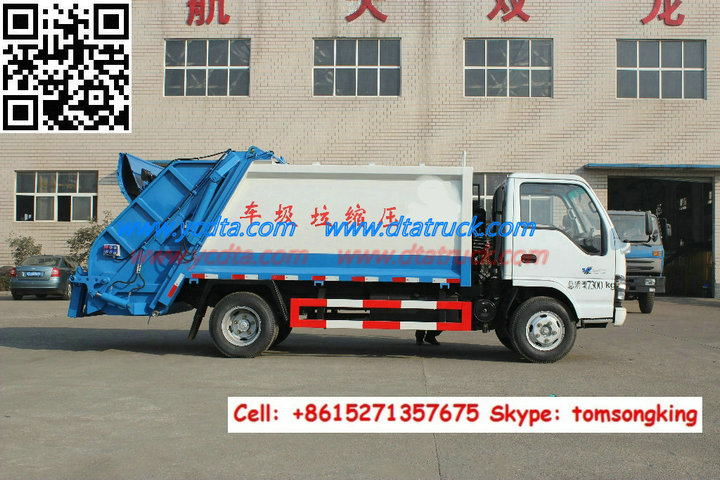 Refuse Garbage Compactor Truck Customization Hot Sale List