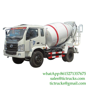 Mini 4m3 130HP Samll Concrete Machinery FOTON for Sale LHD/RHD