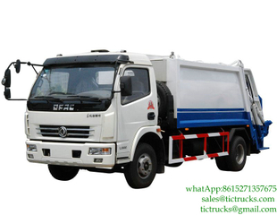 6m3 waste compactor truck