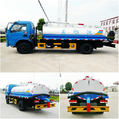 Dongfeng 4x2 6CBM Fecal suction truck