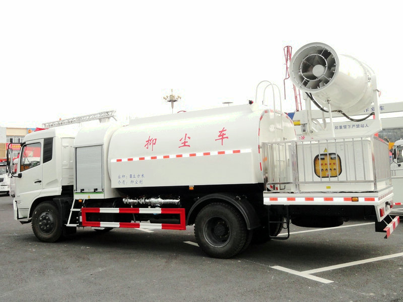 King Run Dust Suppression Truck Cummins Engine Euro 3-6