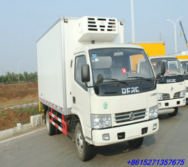 Dongfeng 4x2 Refrigerated Trucks RHD 5~7Ton