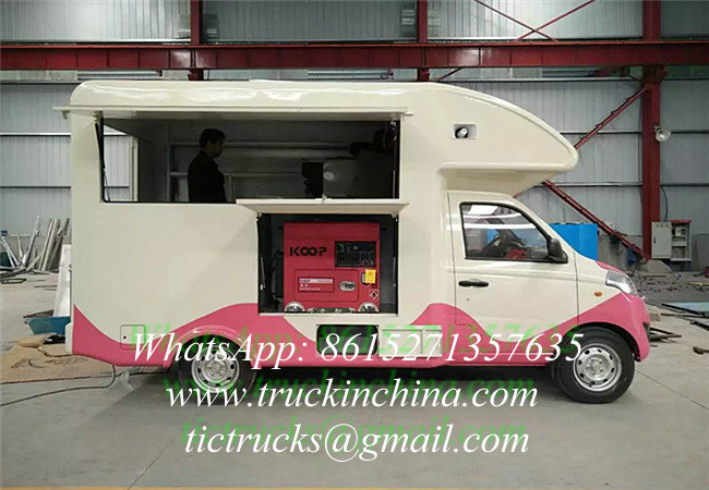 Mobile Food Truck/ice Cream Cart/hot Dog Mobile Food Cart HOT SALE