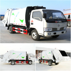 DONGFENG 4-6CBM 4x2 GARBAGE COMPACTOR TRUCK