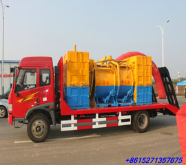 FAW Cargo Truck for Transport Construction Machinery