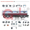 Tanker Manhole Cover , API Loading And Unloading Valve ,Adaptor,Vapor Vent Valve Accessories