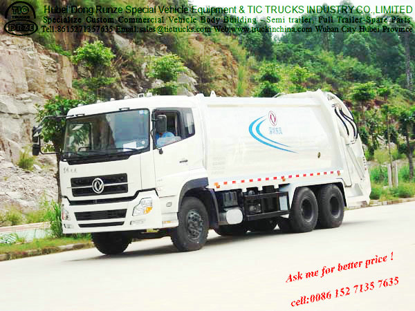 Dongfeng TianlongTrash Compactor Truck Garbage Truck(16-20T)