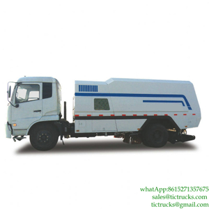 DongFeng 10m3 Sweeper Truck Euro 3 -6