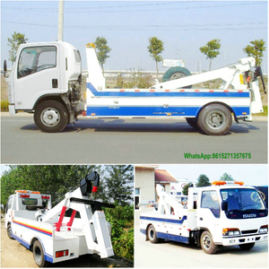 Isuzu 3T Wrecker Towing Conjoined Truck