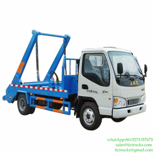 4m3 JAC Skip Loader Waste Truck for Sale