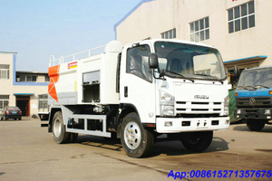 ISUZU sewer Jetting Trucks flushing truck tanker