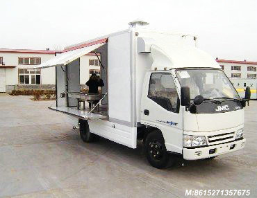 JAC Mobile Cooking Truck Customization