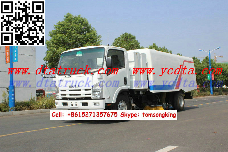 vacuum sweeper truck Customization hot sale list