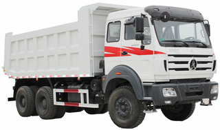 Beiben 10 Wheeler Dump Trucks Mercedes Benz Alxes