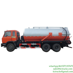 16000L Dongfeng 6x4 220HP Sewage Collection Truck