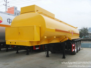 Hydrofluoric Acid Chemical Liquid Tank Trailer