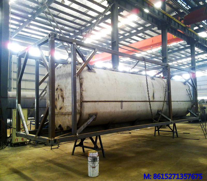 40ft Asphalt Crude Oil Tank Container Stainless Steel