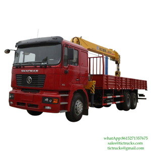 SHACMAN F2000 Truck With Crane 10T-14 XCMG Euro 3 ,6