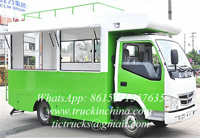 JINBEI 4x2 Mobile Street Food Vehicle for Sale