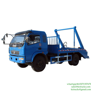 5m3 Duolika Skip Load Garbage Truck for Sale