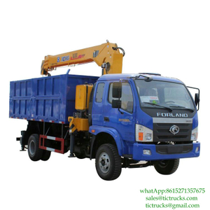 5T Tipper Mounted Crane FOTON for sale Euro 3-6