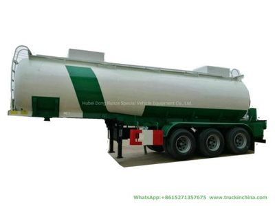 Caustic Soda Tanker Corrosive Chemical Liquid Steel Lined Plastic Tank Trailer (3 Axles PE Lined Tank for Dilute Sulfuric Acid Hydrochloric Acid)