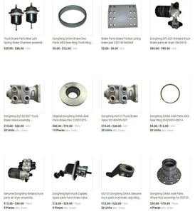 Dongfeng China Truck Brake system Truck Parts