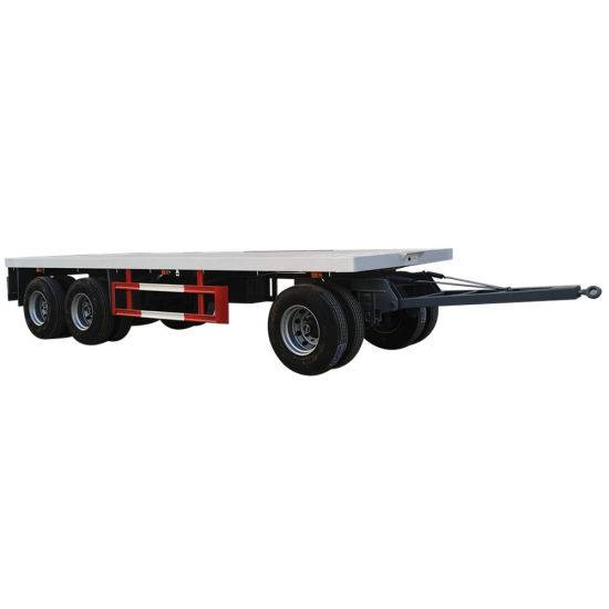 Flatbed Dolly Full Trailer (Customizing 2-3 Axles Dolly)