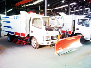 Dongfeng Sweeper Truck Mounted Snow Shovel