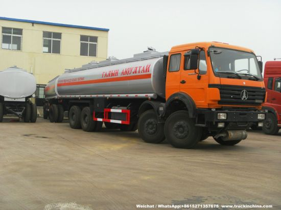 Beiben Fuel Tanker 32000litres for Carrying Fuel, Diesel, Water and Any Other Liquid (8*4 Fuel Tank Bowser Refueler)