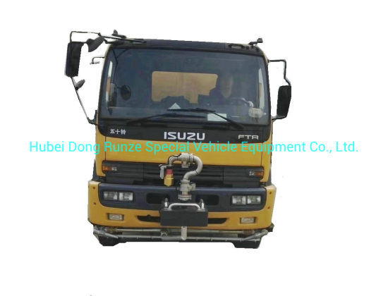 Japan Brand New I. S. U. Z. U Ftr Road Sweeper Truck 6 Cbm Garbage +7 Cbm Water Stainless Steel 304