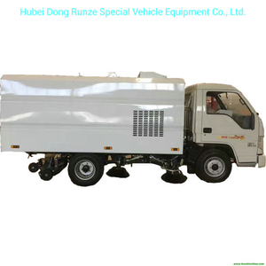 Mini Right Hand Drive Forland Truck Mounted Vacuum Road Sweeper 2.5m3