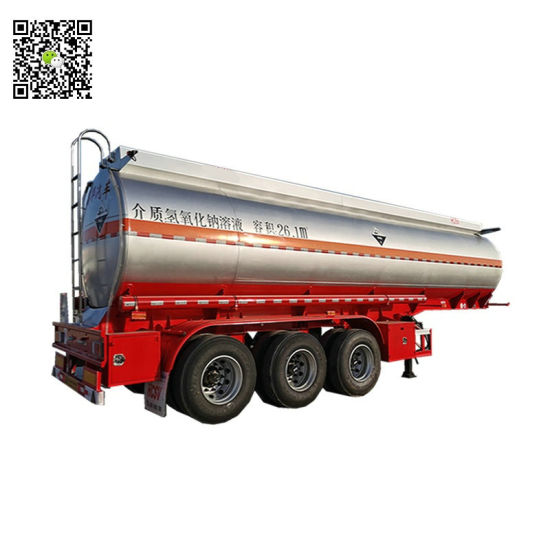 Stainless Tank Trailer 36000L~42000L for Road Transport Liquid Food, Chemical, Oil, Milk (3 Axle Road Tanker Trailer)