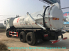 JAC Cesspit Emptier Vacuum Tanker Truck Tank Capacity 15000L to 18000liters Euro 5.6 Standard