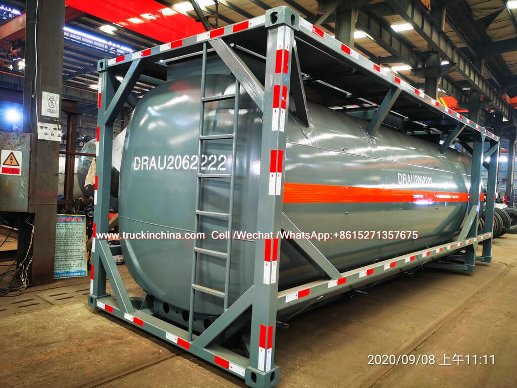 30ft ISO LLDPE Lined Tank for Hydrochloric Acid chemcial fluied (6)