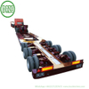 Customizing Multi Axle Modular Lowboy Semi Trailer with Hydraulic Suspension Steering 3 Axles 12 Wheels Low Bed Semi Trailer