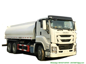 Isuzu-Truck Mounted Water Bowser (Water Tank Sprinckle for Drinking Water And Non Drinking Water - Wast water 15m3 -20m3)