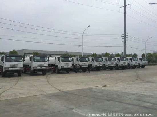Wholesale HOWO off Road 6X6 Awd Water Tanker Truck (20m3-24m3 Water Tank Bowser Sinotruck) to Tema Ghana