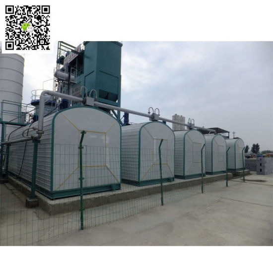 Asphalt Storage Tank with Burners Heating 20, 000L to 50, 000L