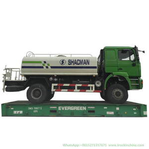 Shacman Oil Water Bowser Truck 6 Wheels 8t-12t (4X2 -4X4 Offroad)