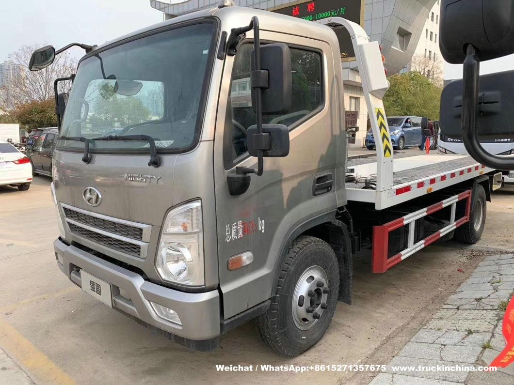 3ton Jmc Small Tilt Tray Wrecker Tow Truck For Sale