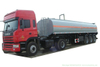 Customized Hydrochloric Acid Tanker 33t (Steel Lined Rubber Plastic LLDPE Chemical Liquid Tank Trailer)