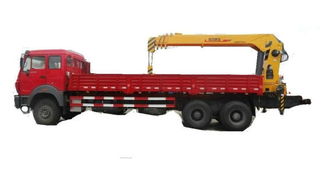 Cargo Transport Beiben Truck Mounted with Loading Crane 10 Wheels Drive (6X6.6X4 LHD. RHD) 12t. 16t. 25t