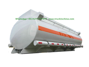 Hydrochloric Acid Tank, Sodium Hypochlorite Tank Body 10000L Elliptic 2 Compartments