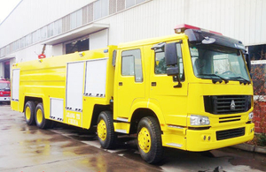 Sinotruk HOWO 8X4 Fire Fighting Truck/ Fire Engine Truck with Water 25000L Tank