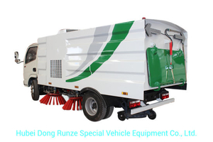 DFAC 8000 Liters Road Sweeper Truck 5 Cbm Garbage 2 Cbm Water Stainless Steel 304